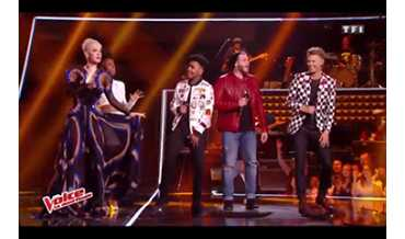 The Voice : Matthieu en Bull Doff On Stage