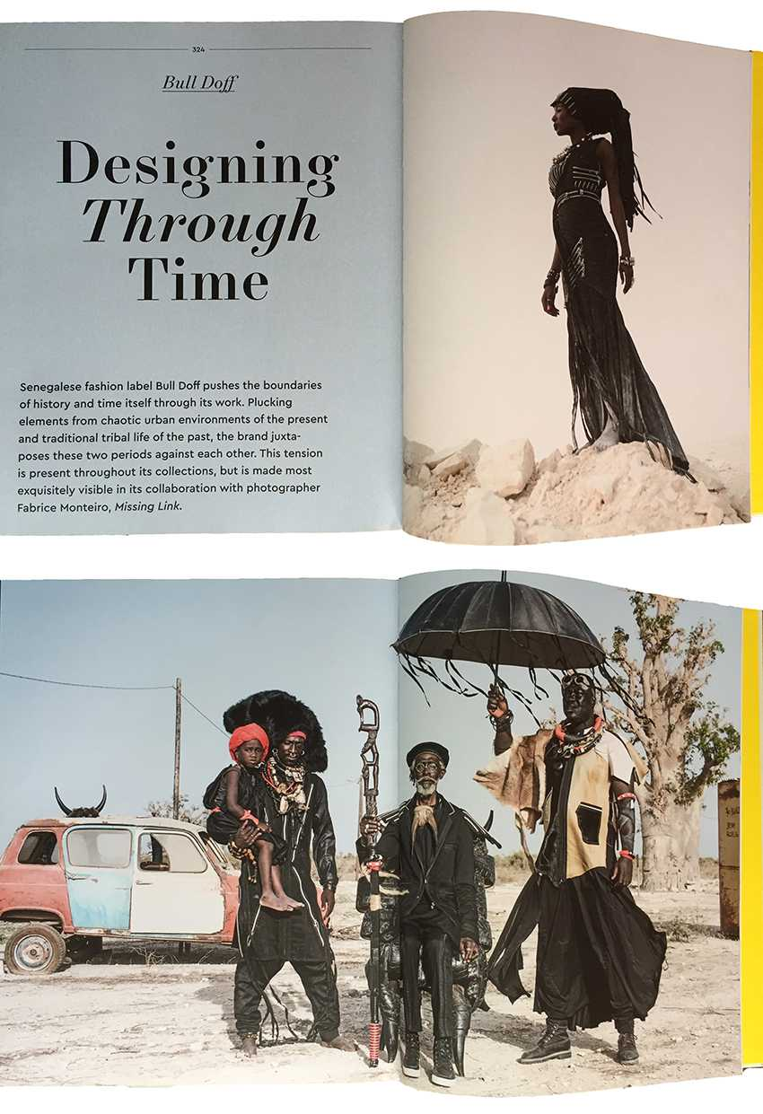 Parution dans AFRICA RISING : Fashion , Design and Lifestyle from Africa - 2016