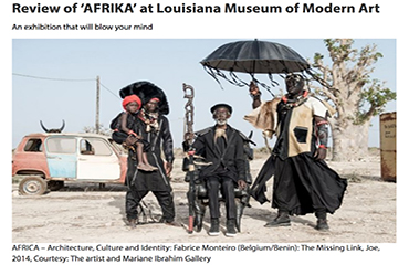 Article sur CPHPOST.DK - Review of AFRIKA at Louisiana Museum of Modern Art - 2015