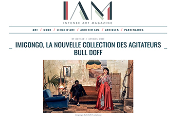 Article sur IAM AFRICA  : Imigongo, la nouvelle collection des agitateurs Bull Doff